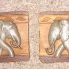 Home Interiors Elephant Wall Plaques, 2001 (Set)