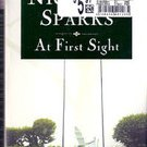 At First Sight by Nicholas Sparks (Paperback)
