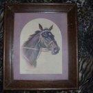 Vintage Horse Head Print by Koekkosk