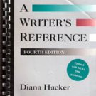 A Writers Reference (Fourth Edition) by Diana Hacker