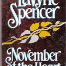 November of the Heart by Lavyrle Spencer, HC