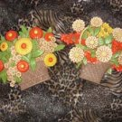 Floral Bouquet Wall Plaques, 1975 Syroco