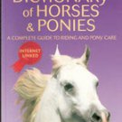 Usborne Dictionary of Horses & Ponies by Struan Reid (Internet Linked)