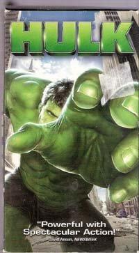 Hulk (VHS Movie)
