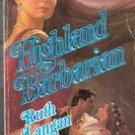 Highland Barbarian by Ruth Langan (Historical Romance)