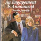 An Engagement Is Announced by Claudia Jameson (Harlequin Romance)