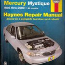Haynes Ford Contour & Mercury Mystique, Repair Manual 1995-2000