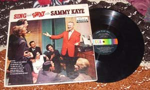 Sing and Sway with Sammy Kaye (vinyl Record) 1960