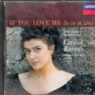 If You Love Me (Se tu m ami) by Cecilia Bartoli (Music CD)