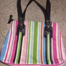 Franco Sarto Multi Colored Striped  Bag, Streetlights