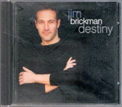 Destiny by Jim Brickman (Music Audio CD) Piano- New Age