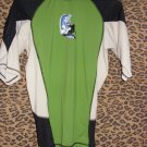Kanu Green, Black and White Suffers Shirt, Size M