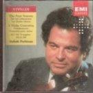 Vivaldi: The Four Seasons; 3 Violin Concertos by Itzhak Perlman (Music CD)