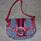 Tommy Hilfiger Red, White, and Blue Ladies Purse