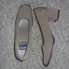 Tan Ladies Heels by Mootsies Tootsies, Size 8M