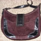 Brown Suede Handbag by Victoria Secrets