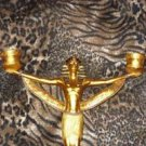 Egyptian God Geb Candle Holder