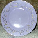Lavender with Gold Inlay Saucer from Coffee & Tea