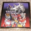 Transformers Metal Framed Wall Plaque