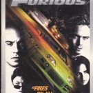 The Fast and Furious (VHS Movie) Paul walker, Vin Diesel,  2001
