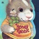 Honey Rabbit by Margo Hopkins (Kids Board Shaped Book)