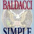 Simple Genius By David Baldacci (Paperback)