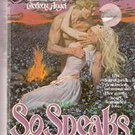 So Speaks The Heart by Johanna Lindsey (Paperback) 1983