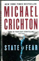 State of Fear by Michael Crichton (Paperback)