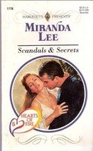 Scandals & Secrets by Miranda Lee (Harlequin Romance)