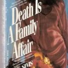 Death is a Family Affair by L V Sims (paperback)