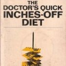 The Doctor's Quick Inch Off Diet by Irwin Maxwell Stillman, Samm Sinclair Baker