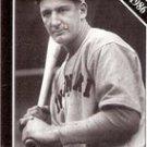 Ernie Lombardi, Cincinnati Reds Baseball HOF Card 27 (Sporting News 1991)