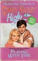 Playing with Fire by  (Francine Pascal Sweet Valley High) by Kate Williams