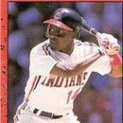Jerry Browne, Donruss 1990, Card No. 138,  Cleveland Indians