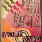 Absolutely Positively by Jayne Ann Krantz (Paperback  1997)