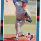 1988 Donruss Baseball Card No 101, Bobby Witt (Rangers)
