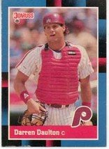 1988 Donruss Baseball Card No 309, Darren Daulton (Phillies)