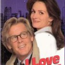 I Love Trouble (VHS Movie) Julia Roberts, Nick Nolte, VHS 1994