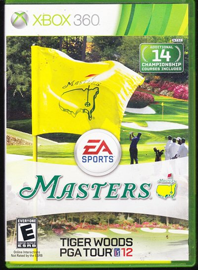 Masters: Tiger Woods PGA Tour 12 (XBox 360)