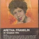 Aretha Franklin 30 Greatest Hits (Cassette Music) 1986
