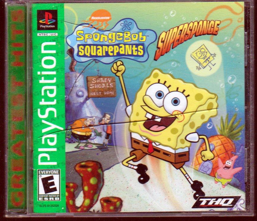 SpongeBob Squarepants: SuperSponge (Playstation Game)