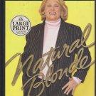 Natural Blonde by Liz Smith (hardback) Large Print
