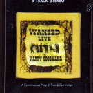 Wanted Live (The Happy Goodmans) 8-Track Cartridge (New-Sealed)