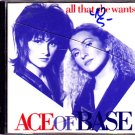 Ace of Base - All That She Wants CD - COMPLETE