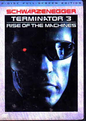 Terminator 3 DVD - 2 Disc Full - COMPLETE