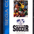 International Soccer - Sega CD video game - complete