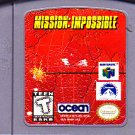 Mission Impossible - Nintendo 64 video game