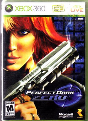 Perfect Dark Zero - Xbox 360 video game - COMPLETE (combine shipping)