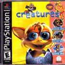 Creatures - Playstation 1 Video Game - COMPLETE (combine shipping)
