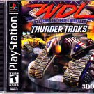 WDL - Thunder Tanks - Playstation 1 Video Game - COMPLETE  (combine shipping)